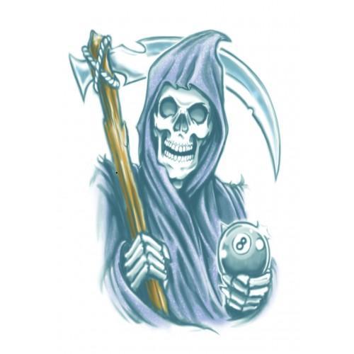 Tatoeage Biker tattoo Reaper