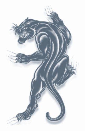 Tatoeage black panter