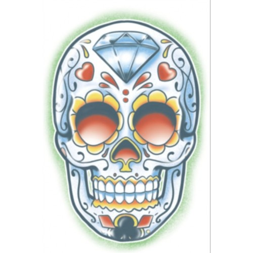 Tatoeage Day of the dead tattoo El Jugador