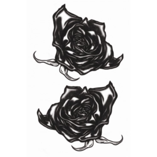 Tatoeage Goth Tattoo Black Roses