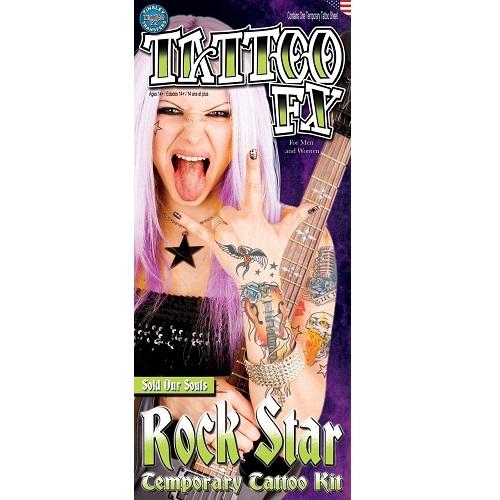Tatoeage set Rock star 11-dlg