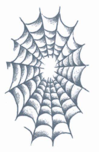 Tatoeage spider web