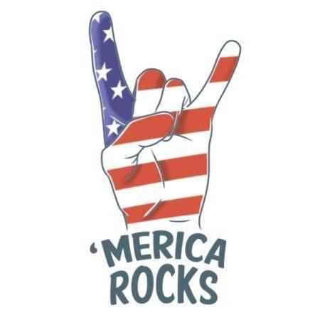 Tatoeage Stars and stripes tattoo 'Merica Rocks
