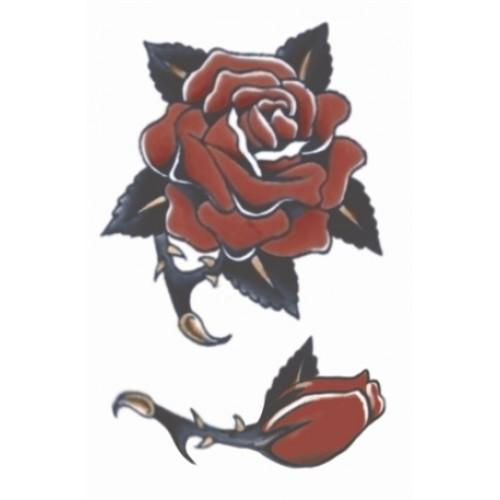 Tatoeage Vintage tattoo Rose 1940