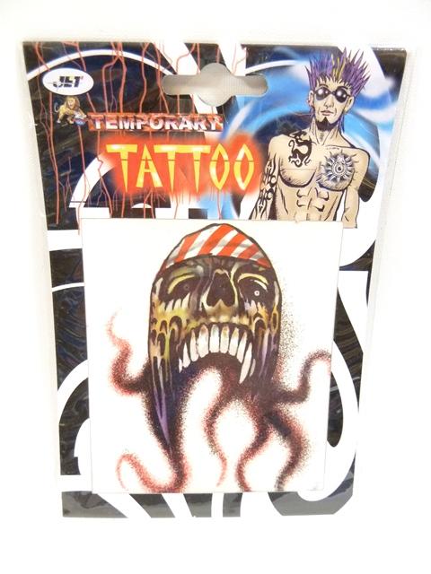 Tattoo's Piraten 6 assortie groot