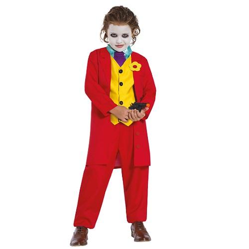 The Joker kostuum kind rood 10-12 jaar