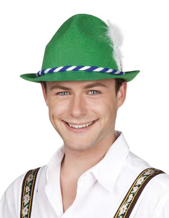 Tiroler hoed groen Werner