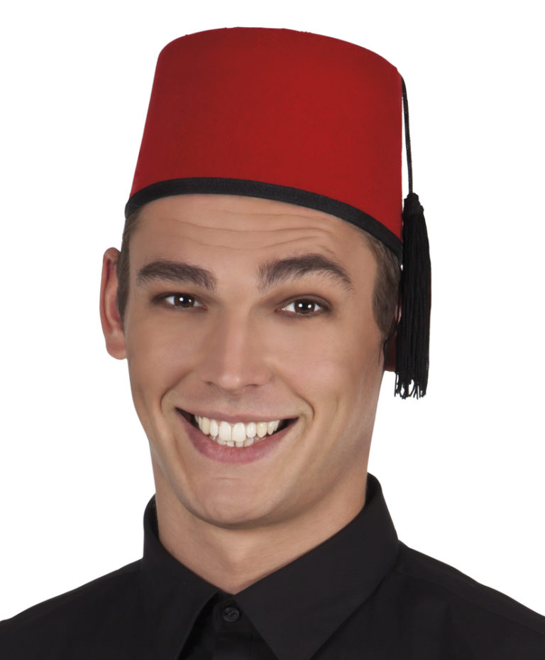 Tommy Cooper Fez rood
