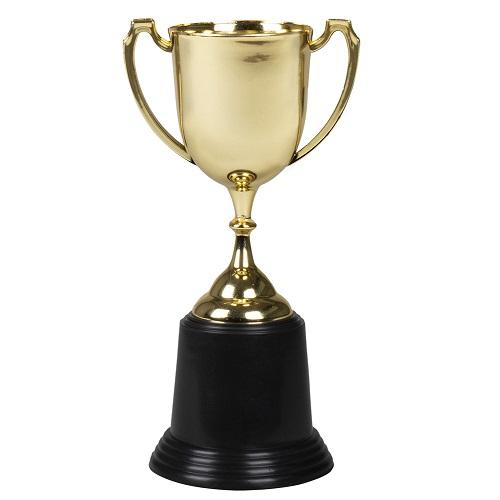 Trofee goud 22cm