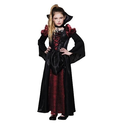 Vampire queen kids 7-9 jaar