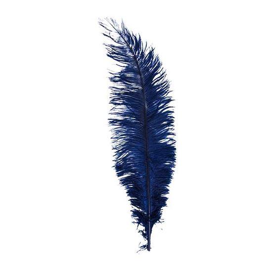 Veer groot donker blauw
