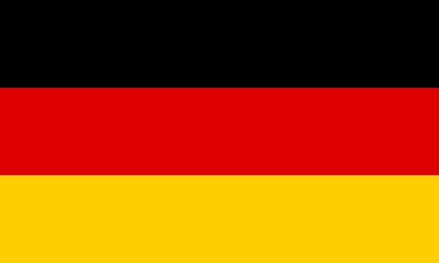 Vlag Duitsland 150x90cm