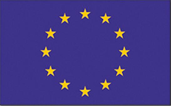 Vlag Europa 150x90cm