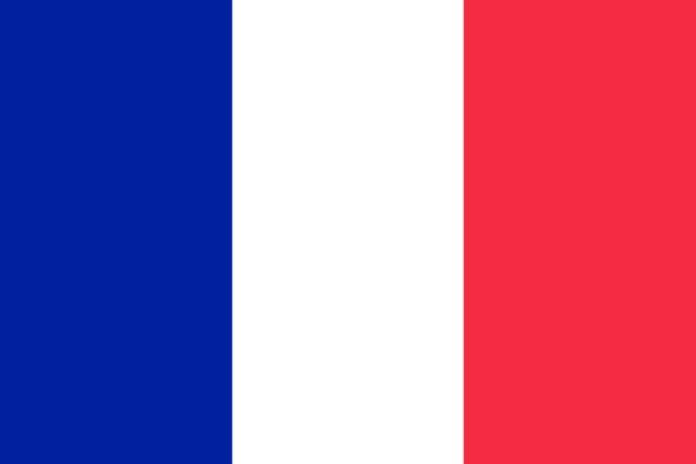 Vlag Frankrijk 150x90cm