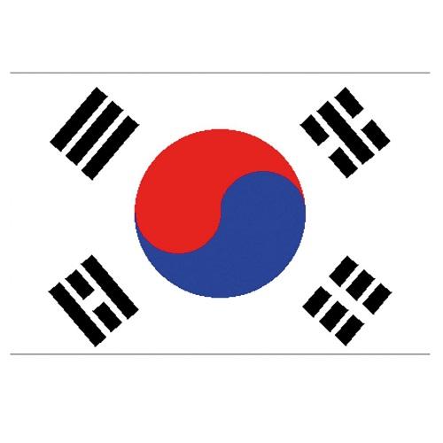 Vlag Zuid-Korea 150x90cm