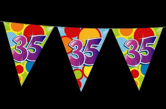 Vlaggenlijn 35 jaar