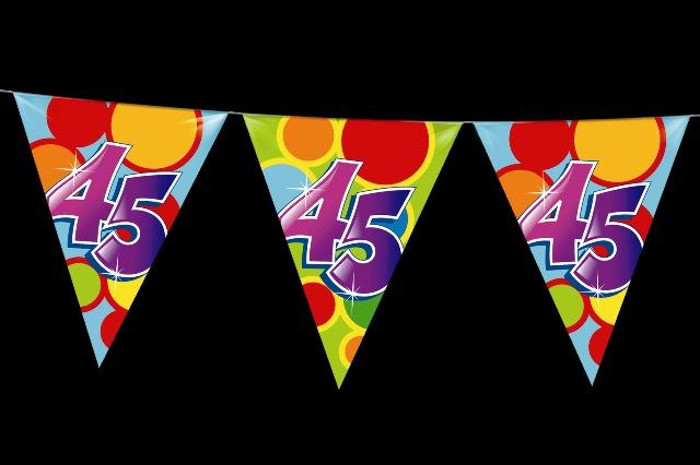 Vlaggenlijn 45 jaar