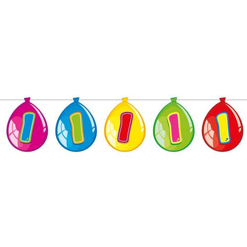 Vlaggenlijn Ballon 1 jaar
