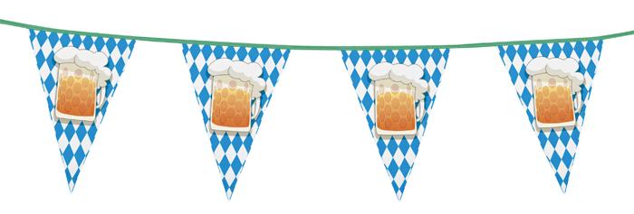 Vlaggenlijn Bierfest 6 meter