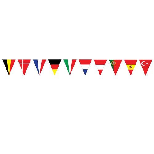 Vlaggenlijn Europa 5 meter