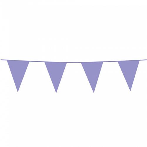Vlaggenlijn lila 10m