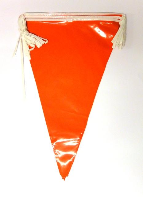Vlaggenlijn mega oranje10 mt
