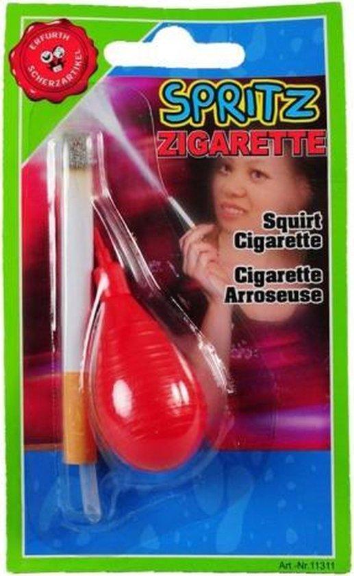 Water spuitende sigaret