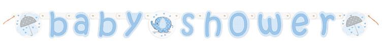 Wenslijn Baby Shower Blauw