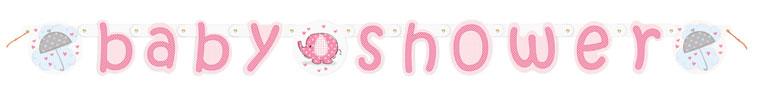Wenslijn Baby Shower Roze
