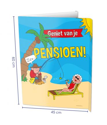Window sign Pensioen