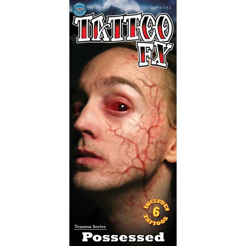 Wound tattoo possessed veins