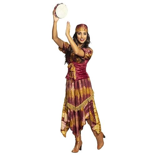 Zigeunerin Lavinia kostuum - 44/46