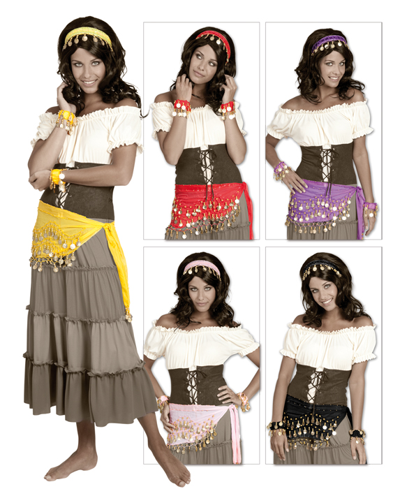 Zigeunerin set paars