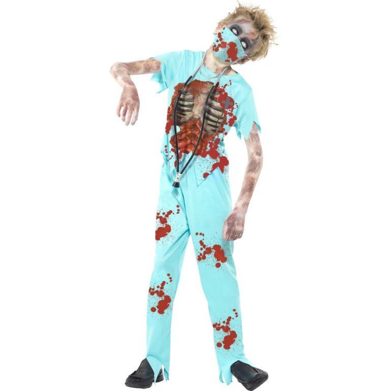 Zombie chirurgen kostuum kids - Teen 12-14