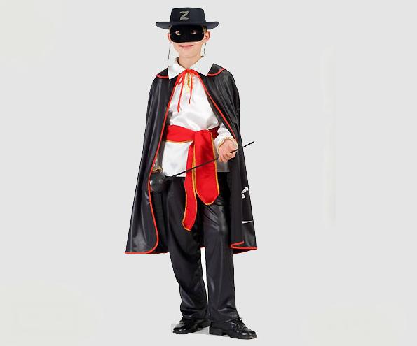 Zorro kostuum kind - 104
