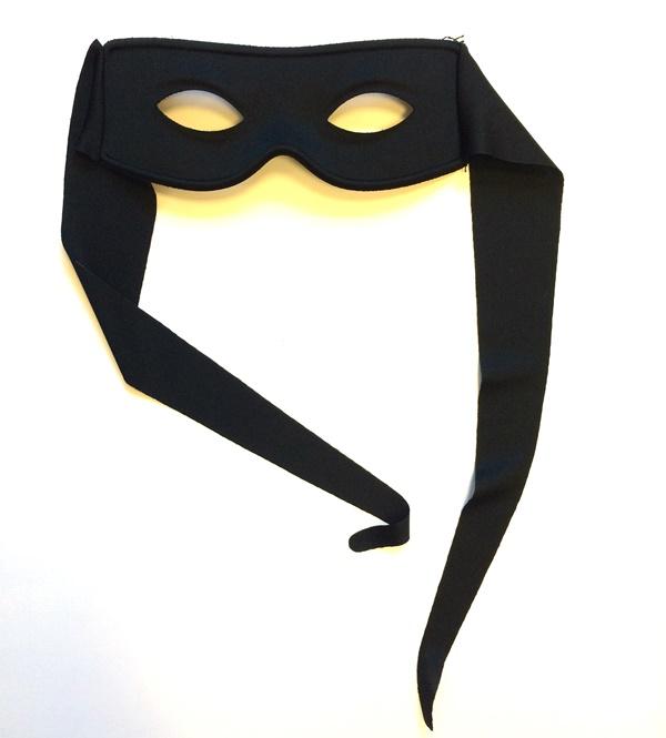 Zorro oogmasker met lap