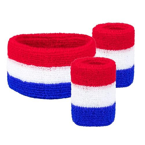 Zweetbandjes set Nederland